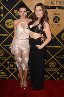 LOS ANGELES, CA - JULY 30: Rachel McCord and Sophie Simmons the 2016 MAXIM Hot 100 Party at the Hollywood Palladium on July 30, 2016 in Los Angeles, California. Credit: David Edwards/MediaPunch