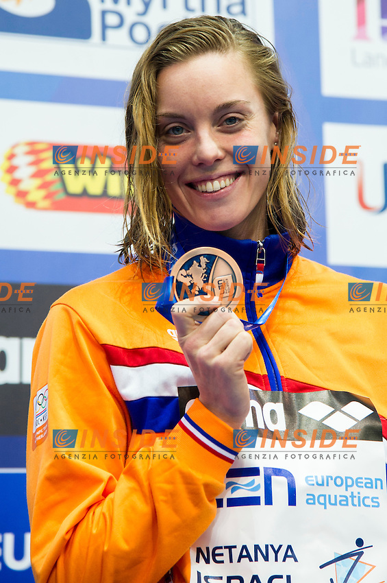 HEEMSKERK Femke NED Bronze Medal<br /> 200m Freestyle Women Final<br /> Netanya, Israel, Wingate Institute<br /> LEN European Short Course Swimming Championships Dec. 2 - 6, 2015 Day04 Dec.05<br /> Nuoto Campionati Europei di nuoto in vasca corta<br /> Photo Giorgio Scala/Deepbluemedia/Insidefoto