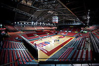 The Spiroudome indoor arena in Charleroi (Belgium, 12/11/2013)