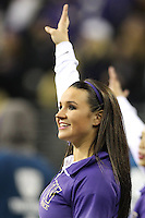 Nov 08, 2014:  Washington cheerleader Lexi Nunes pumped up fans during the game against UCLA.  Washington defeated UCLA at Husky Stadium in Seattle, WA.