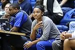 14 December 2015: Duke's Lexie Brown. The Duke University Blue Devils hosted the University of Massachusetts Minutewomen at Cameron Indoor Stadium in Durham, North Carolina in a 2015-16 NCAA Division I Women's Basketball game. Duke won the game 70-46.