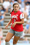 24 August 2014: Ohio State's Marisa Wolf. The University of North Carolina Tar Heels hosted the Ohio State University Buckeyes at Fetzer Field in Chapel Hill, NC in a 2014 NCAA Division I Women's Soccer match. UNC won the game 1-0.