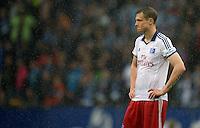 FUSSBALL   1. BUNDESLIGA   SAISON 2012/2013    34. SPIELTAG Hamburger SV - Bayer 04 Leverkusen                      18.05.2013 Marcell Jansen (Hamburger SV) ist enttaeuscht