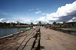 The causeway at Angkor Wat, Cambodia. June 8, 2013.