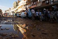 Mud, streets, Nakasero.