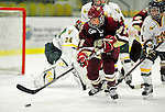 16 October 2010: Boston College Eagles' forward Andrea Green, a Junior from Chanhassen, MN, in action against the University of Vermont Catamounts at Gutterson Fieldhouse in Burlington, Vermont. The Eagles defeated the Lady Cats 4-1 in the second game of their weekend series. Mandatory Credit: Ed Wolfstein Photo