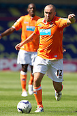 Gary Taylor-Fletcher, Blackpool FC prepares to take a strike at goal - Millwall vs Blackpool - NPower Championship Football at the New Den, London - 18/08/12 - MANDATORY CREDIT: Ray Lawrence/TGSPHOTO - Self billing applies where appropriate - 0845 094 6026 - contact@tgsphoto.co.uk - NO UNPAID USE.