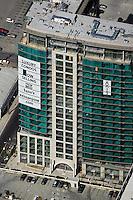aerial photograph luxury condominiums for sale San Jose, Santa Clara county, California