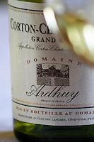 corton-charlemagne clos des langres ardhuy nuits-st-georges cote de nuits burgundy france