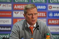 VOETBAL: ABE LENSTRA STADION: HEERENVEEN: 30-11-2013, SC Heerenveen - Go Ahead Eagles, uitslag 3-1, Foeke Booy (trainer/coach Go Ahead Eagles), ©foto Martin de Jong