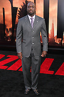 """HOLLYWOOD, LOS ANGELES, CA, USA - MAY 08: Richard T. Jones at the Los Angeles Premiere Of Warner Bros. Pictures And Legendary Pictures' """"Godzilla"""" held at Dolby Theatre on May 8, 2014 in Hollywood, Los Angeles, California, United States. (Photo by Xavier Collin/Celebrity Monitor)"""