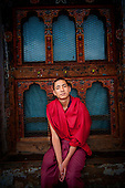 Asia, Tibet, Bhutan, Thimpu, Monk