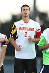 13 September 2013: Maryland's Alex Crognale. The University of North Carolina Tar Heels hosted the University of Maryland Terrapins at Fetzer Field in Chapel Hill, NC in a 2013 NCAA Division I Men's Soccer match. The game ended in a 2-2 tie after two overtimes.