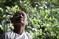"""MAE CHEE SON MAI is a 62 years old thai woman who was ordained as nun since 12 years ago. Increasingly mae chii can be found in independent ?nunneries? or """"samnak chii"""" where they undertake domestic duties, grow crops, practice meditation, undertake studies in the dharma and, increasingly, provide teaching in the dharma and meditation to lay Buddhists. Mae Chees have to depend on the male dominated Sangha. Despite the status of mae chee is accepted as category under the highest ordination for nuns as """"bhikkhuni"""" in Theravada Buddhism, has not recognized yet as official status within the religious communty."""