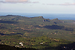 Photo shows the view from Mount Tapocho over the jungle that was home for Sakae Oba and his men from over 16 months in Saipan on 22 February 2011. .Photographer: Robert Gilhooly
