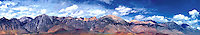 920000001 A panoramic view of clouds over the Eastern Sierras near Olancha, California.