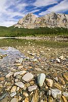 Koyukuk river and Mount Sukakpak in the Brooks mountain range, Arctic, Alaska