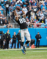 The Carolina Panthers played the New Orleans Saints for supremacy in the NFC South.  December 22, 2013 at Bank of America Stadium.  The Panthers scored the winning touchdown with 23 seconds left in the game to give them the opportunity to clinch the NFC South with a win next week.
