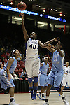 UK Hoops' sophomore forward Brittany Henderson shoots a layup in the second half of UK Hoops' second round NCAA game against UNC in The Pit in Albuquerque, New Mexico, 3/22/11. Photo by Brandon Goodwin | Staff.