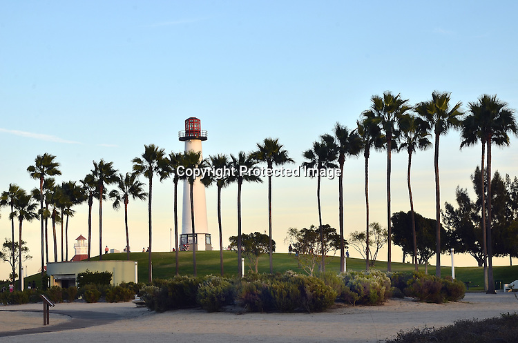 Stock photo of Lighthouse at Long Beach