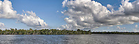 10,000 Islands, Florida Everglades National Park, Panorama Picture, Back-Country Fishing<br />