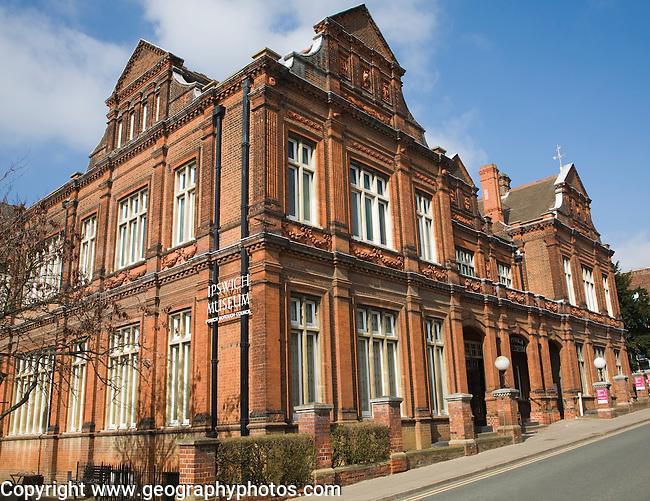 Victorian Architecture Of Ipswich Museum Suffolk England