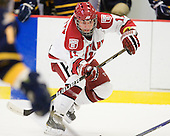 Daniel Moriarty (Harvard - 11) - The visiting Quinnipiac University Bobcats defeated the Harvard University Crimson 3-1 on Wednesday, December 8, 2010, at Bright Hockey Center in Cambridge, Massachusetts.