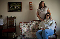 Danielle and Angela White, together for 16 years, Durham, NC. Danielle is transitioning her gender from male to female. Amendment One does nothing to address the Whites' relationship.