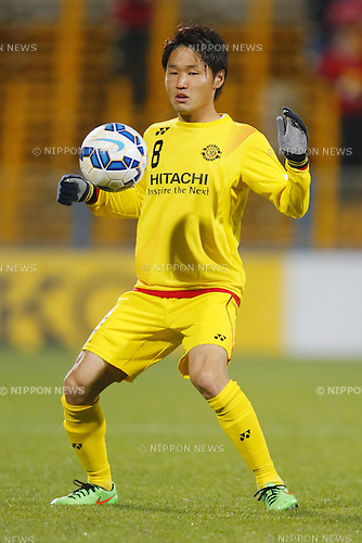 Akimi Barada (Reysol), March 3, 2015 - Football / Soccer : 2015 AFC Champions League Group E match between Kashiwa Reysol 5-1 Binh Duong at Hitachi Kashiwa Stadium in Chiba, Japan. (Photo by Yusuke Nakanishi/AFLO SPORT) [1090]