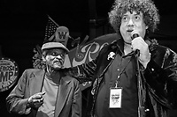 Lil Buck Sinegal and Dr. Ira Padnos at the Ponderosa Stomp in New Orleans on October 3, 2015.