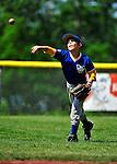 4 June 2011: The Burlington American Mariners in Little League action against the Burlington American Athletics at Calahan Park in Burlington, Vermont. Mandatory Credit: Ed Wolfstein Photo