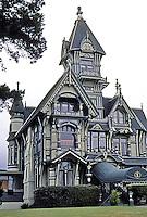 Eureka CA:  Wm. Carson House, 3/4 view.   Photo '83.