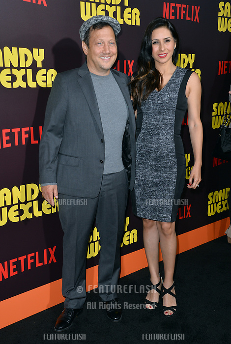 Rob Schneider &amp; Patricia Maya Schneider at the premiere for &quot;Sandy Wexler&quot; at The Cinerama Dome. Los Angeles, USA 06 April  2017<br /> Picture: Paul Smith/Featureflash/SilverHub 0208 004 5359 sales@silverhubmedia.com