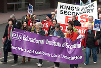 06/03/10 Teachers' protest