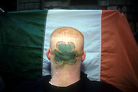 St. Patrick's Day Parade in New York on March 17, 2002. (© Richard B. Levine)