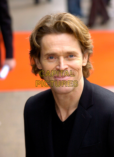 "WILLEM DAFOE.Arrivals at the UK Film Premiere of ""Mr. Bean's Holiday"" at Odeon Leicester Square, London, England, .March 26th 2007. .portrait headshot.CAP/CAN.©Can Nguyen/Capital Pictures"