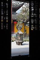 Jade Buddha Temple complex, Shanghai, China