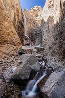 Falls Creek waterfalls in Clarks Fork Canyon
