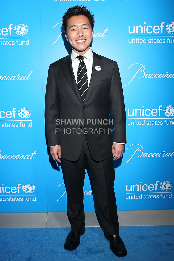 Vern Yip, interior designer on HGTV's Deserving Design, arrives at the UNICEF Snowflake Ball, Presented by Baccarat, at Cipriani 42nd Street, November 30, 2010.