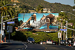 Billboard on the Sunset Strip in Los Angeles, California