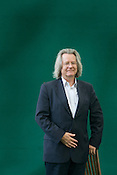 Professor A. C. Grayling, philosopher, and author. Edinburgh International Book Festival, Edinburgh, Scotland. Edinburgh is the inaugural UNESCO City of Literature.