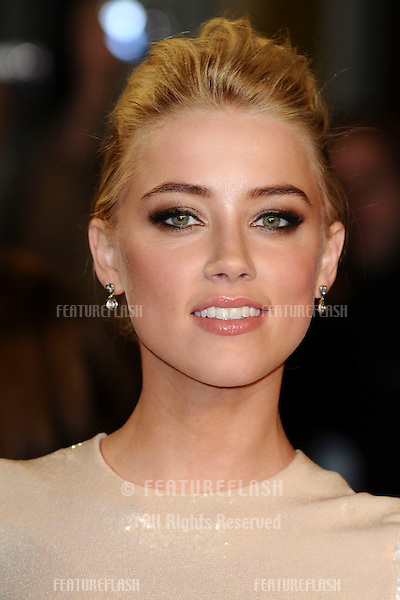 "Amber Heard arriving for the premiere of ""Rum Diary"" at the Odeon Kensington cinema, London. 03/11/2011 Picture by: Steve Vas / Featureflash"