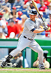 29 May 2011: San Diego Padres infielder Chase Headley in action against the Washington Nationals at Nationals Park in Washington, District of Columbia. The Padres defeated the Nationals 5-4 to take the rubber match of their 3-game series. Mandatory Credit: Ed Wolfstein Photo