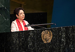 INDIA<br /> <br /> <br /> General Assembly 70th session:  66th plenary meeting<br /> 1. Report of the Credentials Committee (A/70/573 (to be issued)) [item 3 (b)]<br /> 2. Culture of peace [item 16]<br /> (a) Report of the Secretary-General (A/70/373) <br /> (b) Draft resolutions (A/70/L.20 and A/70/L.24 (to be issued))