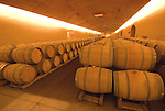 Chile Wine Country: Barrels at Concha y Toro Winery, Vina Concha y Toro, near Santiago..Photo #: ch473-33801.Photo copyright Lee Foster, 510-549-2202, www.fostertravel.com, lee@fostertravel.com.