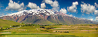 Mount Süphan  , the second highest Volcano in Turkey After Arat at 4058m. North Shore of Lake Van, Turkey 3