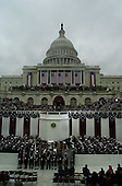 General View of the Inauguration of George W. Bush as the 43rd President of the United States at the U.S. Capitol in Washington, D.C. on January 20, 2001. .Credit: David N. Berkowitz for Newsweek - Pool via CNP.