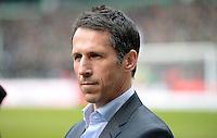 FUSSBALL   1. BUNDESLIGA   SAISON 2012/2013    28. SPIELTAG SV Werder Bremen - FC Schalke 04                          06.04.2013 Manager Thomas Eichin (SV Werder Bremen)