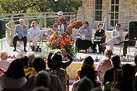 Image made during the grand re-opening of the Jingu House, Saturday, Oct. 22, 2011, at the Japanese Tea Garden in San Antonio, Texas, USA. (Darren Abate/pressphotointl.com)