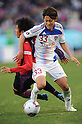 (R-L) Kenta Mukuhara (FC Tokyo), Shogo Shimohata (Sanga), JANUARY 1, 2012 - Football / Soccer : 91st Emperor's Cup final match between Kyoto Sanga F.C. 2-4 F.C.Tokyo at National Stadium in Tokyo, Japan. (Photo by Takahisa Hirano/AFLO)